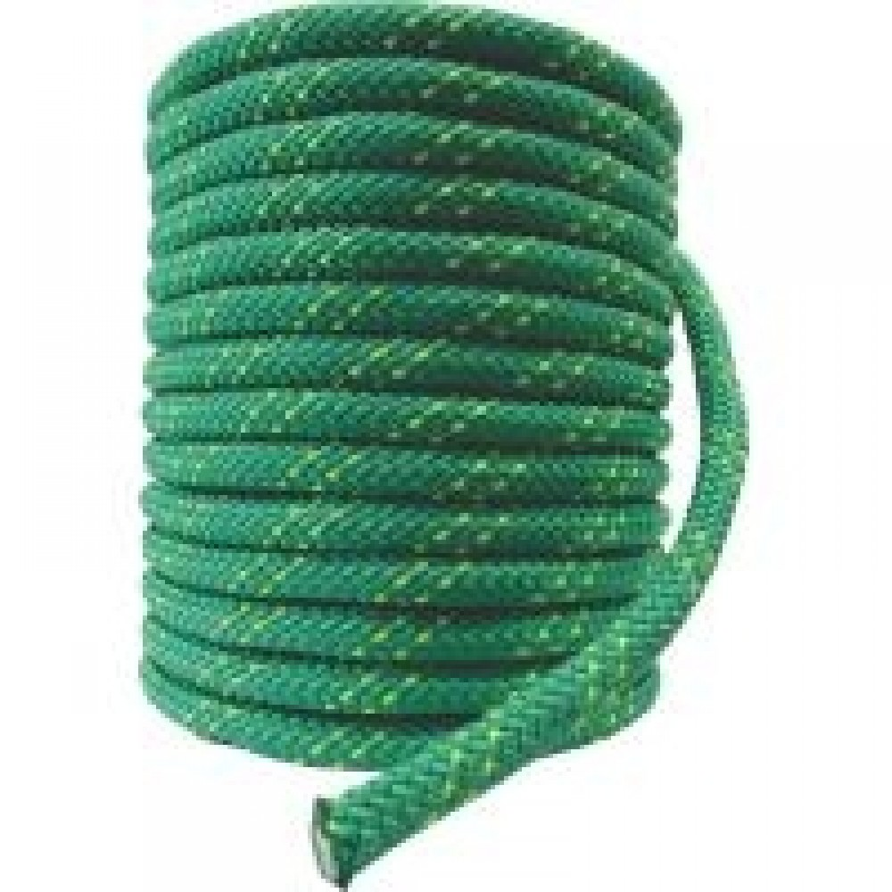 Corda Semi-Estática K2 11,5 mm - Meada de 100 metros - Verde bandeira