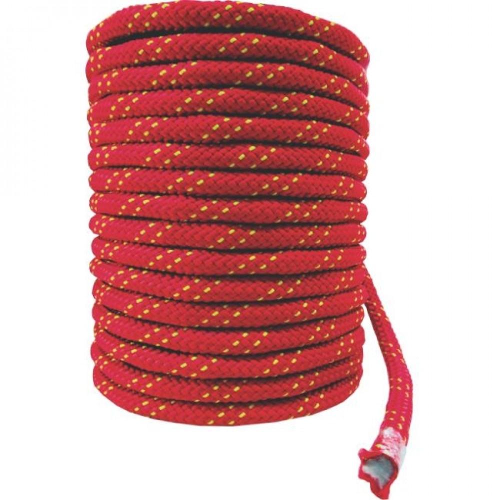 Corda Semi-Estática K2  9,0 mm - Meada de 50 metros - Vermelho