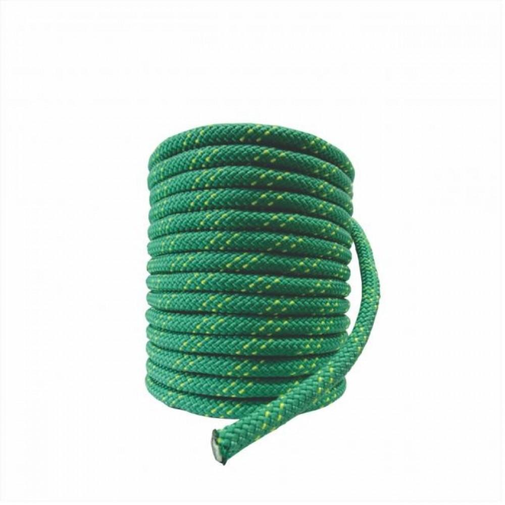 Corda Semi-Estática K2  9,0 mm - Meada de 50 metros - Verde musgo
