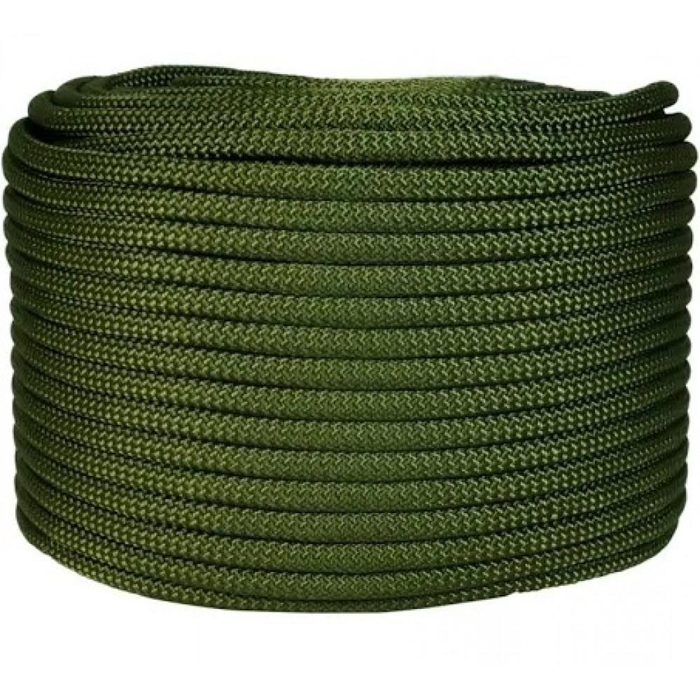 Corda Semi-Estática K2 11,5 mm - Meada de 100 metros - Verde musgo