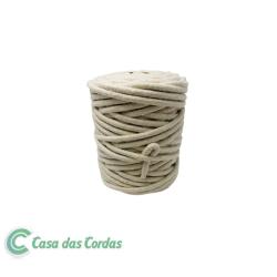Corda Algodão Vivo Cru  6,0 mm - RL 1,0 Kg