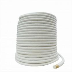 Corda Algodão P/ Capoeira 8,0 mm Rolo com 50 metros 100 % algodão