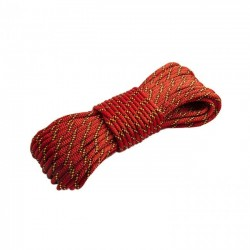 Corda Náutica K2  6,0 mm -Vermelha