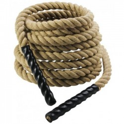 Corda Para CrossFit - Com 10 metros  - Sisal Torcido de 38 mm