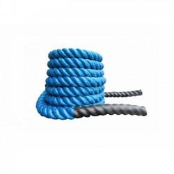 Corda Para CrossFit - Com 10 metros AZUL - Polietileno Torcido de 38 mm