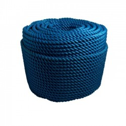 "Corda Polietileno Torcida A    6 mm 1/4"""