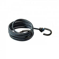 Corda Polipropileno Elástica  6,0 mm 1,5 Mt C/ Ganchos Ferro