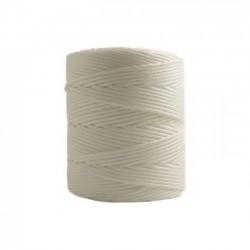 Corda Polipropileno Trançada Branca  3,0 mm - RL 1,0 Kg