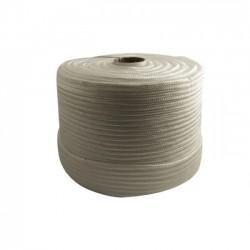 Corda Polipropileno Trançada Branca  8,0 mm
