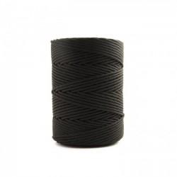Corda Polipropileno Trançada Preta 3,5 mm - RL 1,0 Kg