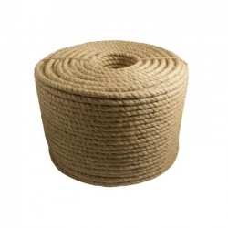 Corda Sisal Torcida Natural 22 mm