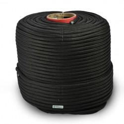 Corda Polipropileno Trançada Preta  12,0 mm com  220 metros