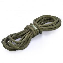 Corda Semi-Estática K2 11,5 mm - Cabo solteiro de 7 metros verde musgo  (militar )