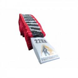 Fita Anel K2 25mm 22 KN 180 cm - Cor:Vermelha