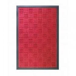 Tapete Waterkap 40 X 60 cm Vermelho
