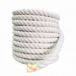 Corda Algodão Torcida  10 mm