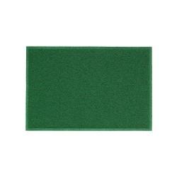 Tapete Vinil    40 X 60 cm Borda Rebaixada Verde Bandeira